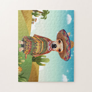 Mexican dog ,chihuahua jigsaw puzzle