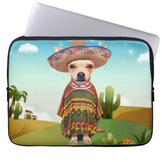 Mexican dog ,chihuahua laptop sleeve