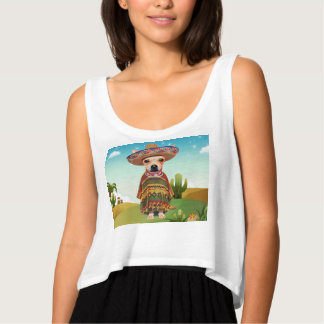 Mexican dog ,chihuahua tank top