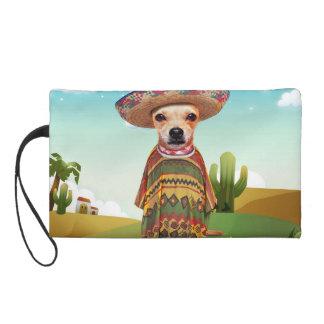 Mexican dog ,chihuahua wristlet
