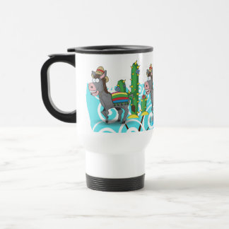 Mexican Donkey Travel Mug