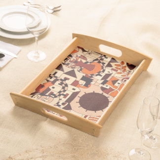 Mexican drawings - Serving tray - Tray