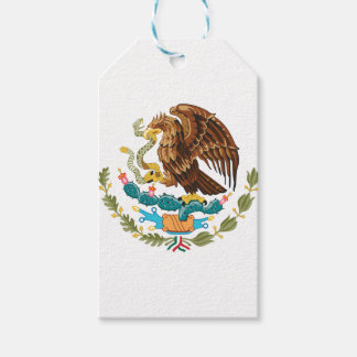 Mexican Eagle And Snake Pack Of Gift Tags