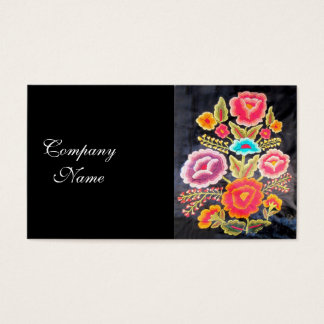 Mexican Embroidery design Business Card