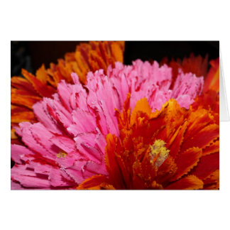 Mexican Festival Flowered Note Cards