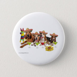Mexican Fiest 2 Inch Round Button