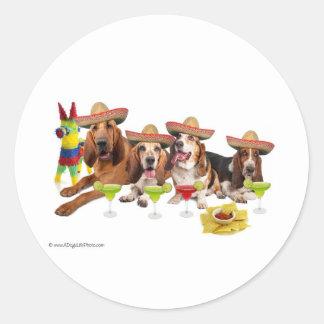 Mexican Fiest Round Sticker