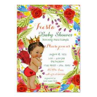 Mexican Fiesta Baby Shower Card
