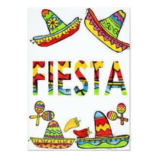 Mexican Fiesta Cinco de Mayo Invitations