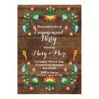 Mexican Fiesta Engagement Party Invitation