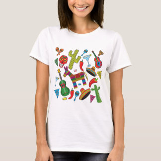 Mexican Fiesta Party Images T-Shirt