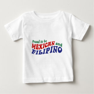 Mexican Filipino Baby T-Shirt