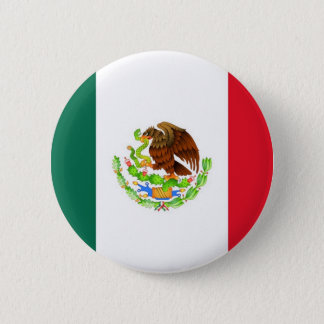 Mexican Flag 2 Inch Round Button