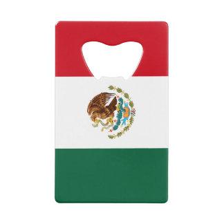 Mexican Flag Beer Bottle Opener Credit Card Bottle Opener