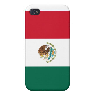 Mexican Flag Hard Shell Case for iPhone 4/4S iPhone 4/4S Cover