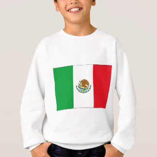 Mexican Flag Mexico Flag Kids Sweatshirt
