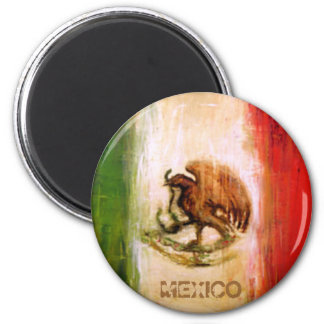 MEXICAN FLAG - MEXICO STYLE MAGNET