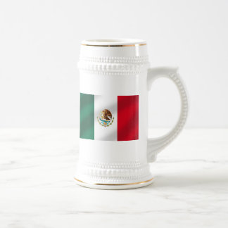 Mexican flag of Mexico Tees and gifts Beer Stein