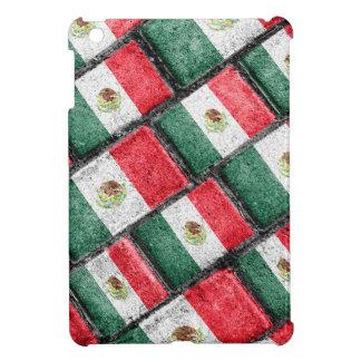Mexican Flag Pattern Design iPad Mini Case