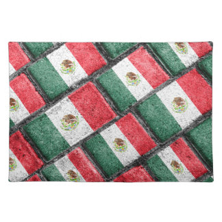 Mexican Flag Pattern Design Placemat