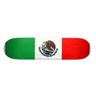 Mexican flag skateboard