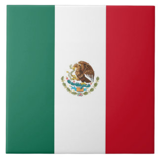 Mexican Flag Tile
