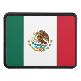 Mexican Flag Trailer Hitch Cover