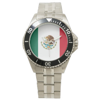 Mexican Flag Watch (Stainless)