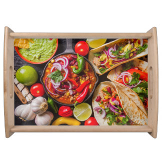 Mexican Food serving tray 1