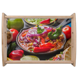 Mexican Food serving tray 3