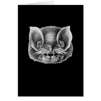 Mexican Funnel-eared Bat Greeting Card