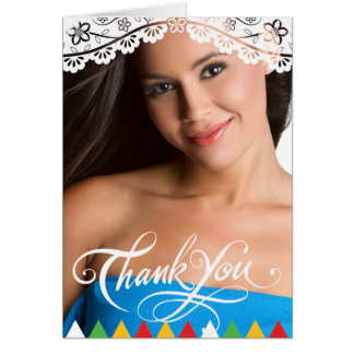 Mexican Graduation Thank You Card