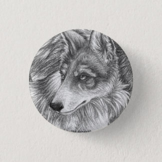 Mexican Grey Wolf Pin