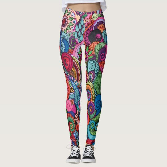 Mexican Happy Life Design Leggings