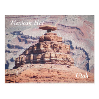 Mexican Hat Postcard