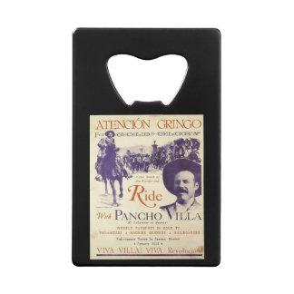 Mexican Hero General Pancho Villa Wallet Bottle Opener