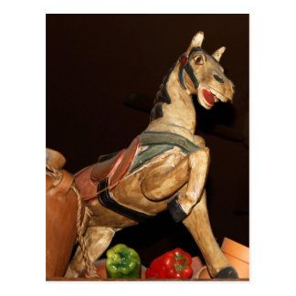 Mexican Horse Statue and Decor Postcard