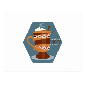 Mexican Hot Chocolate Postcard