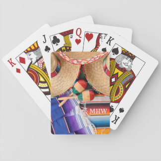 Mexican Items custom monogram playing cards