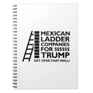 Mexican Ladder Companies Spiral Notebooks