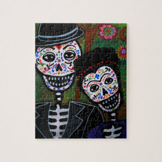 Mexican lovers Painting Jigsaw Puzzle