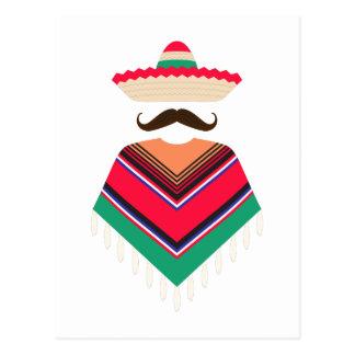 Mexican Man Postcard