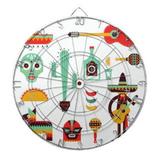 mexican mariachi dart board