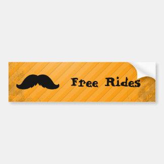 Mexican Moustache Bumper Sticker