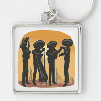 Mexican Music Keychain