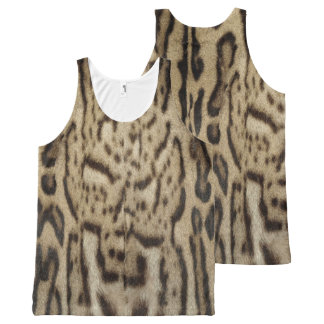Mexican Ocelot All-Over-Print Tank Top