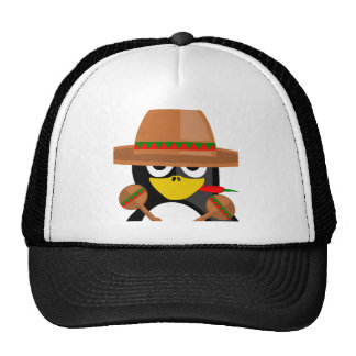 Mexican Penguin Trucker Hat