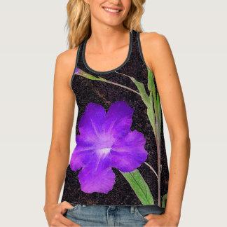 Mexican Petunia Purple Tank Top
