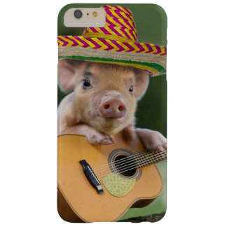 mexican pig - pig guitar - funny pig barely there iPhone 6 plus case