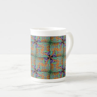 Mexican Pinwheel Series #2 Tea Cup
